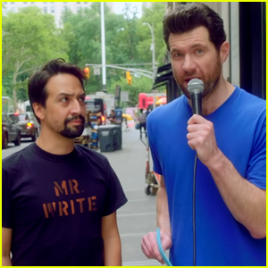 Lin-Manuel Miranda Hits the Street with Billy Eichner - Watch Now!