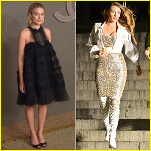 Margot Robbie & Blake Lively Go Glam for Chanel Fashion Show in NYC!!