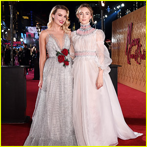 Saoirse Ronan & Margot Robbie Attend 'Mary Queen of Scots' London Premiere!