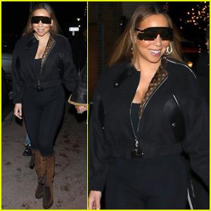 Mariah Carey Rocks Unique Shades During Shopping Trip in Aspen