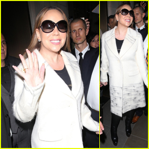 Mariah Carey Is All Smiles Heading to Her Sold-Out Concert in London!