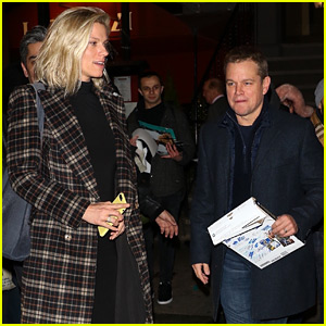 Matt Damon Goes Out for Dinner with Lindsay Shookus, His BFF Ben Affleck's Ex