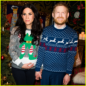 Meghan Markle & Prince Harry's Live Wax Figures Come to Life in Unsettling Christmas Display