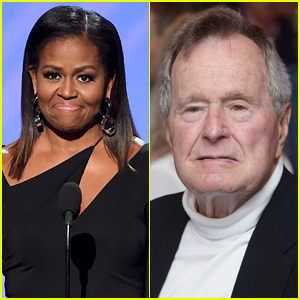 Michelle Obama Cancels Book Tour Dates to Attend George H.W. Bush's Funeral