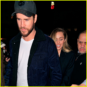 Miley Cyrus & Liam Hemsworth Hit Up 'SNL' After Party