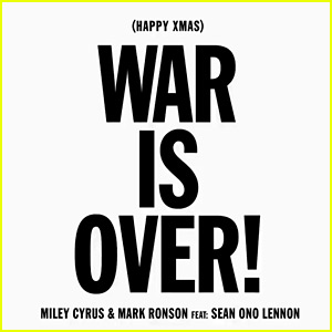 Miley Cyrus Covers John Lennon's 'War Is Over' - Listen Now!