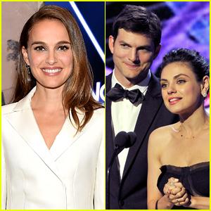 Natalie Portman Chooses Which Former Co-Star Is a Better Kisser: Mila Kunis or Ashton Kutcher