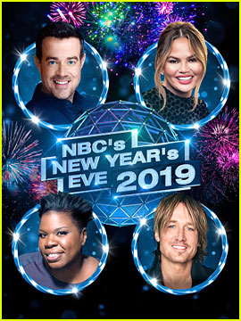 NBC's New Year's Eve with Carson Daly & Chrissy Teigen - Performers Lineup!