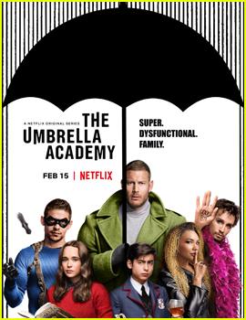 Netflix Debuts First 'The Umbrella Academy' Poster & Trailer - Watch Here!