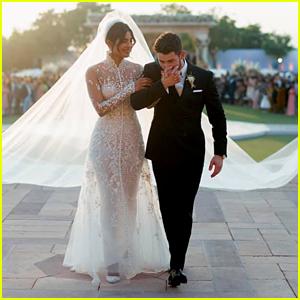 Nick Jonas & Priyanka Chopra Share Photos From Their Wedding Ceremonies!