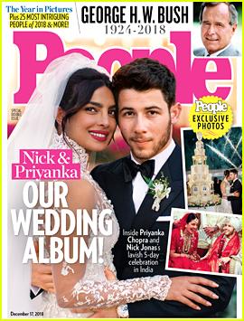 Nick Jonas & Priyanka Chopra's Wedding Photo - First Look!