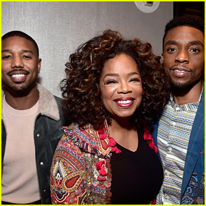 Oprah Winfrey Joins 'Black Panther' Stars at Awards Season Event!