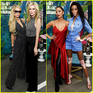 Paris Hilton, Winnie Harlow, Nicole Sherzinger Live It Up at L'Eden By Perrier-Jouet Celebration!