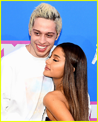Did Pete Davidson See Ariana Grande When She Rushed to Be With Him This Weekend?