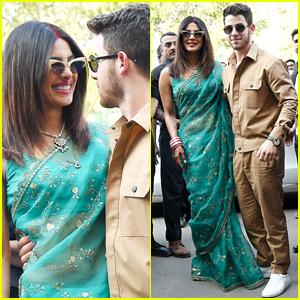 Nick Jonas & Priyanka Chopra Step Out as Newlyweds!