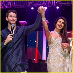 Nick Jonas & Priyanka Chopra's Families Competed in a Song & Dance Competition During Wedding Festivities