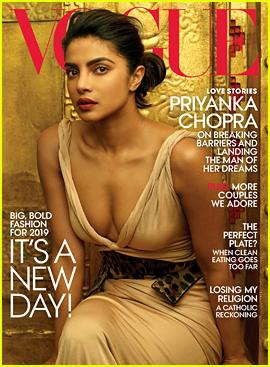 Priyanka Chopra Stuns on Vogue's Latest Cover