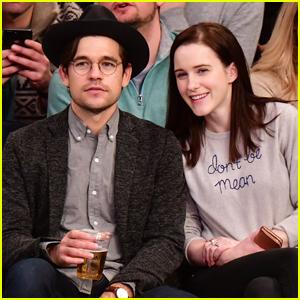 Rachel  Brosnahan & Husband Jason Ralph Sit Courtside at Knicks Game in NYC!