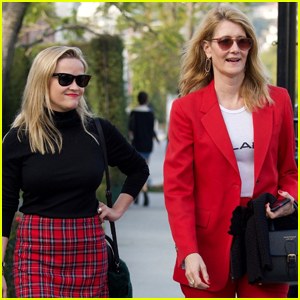 Reese Witherspoon & Laura Dern Meet Up for Lunch!