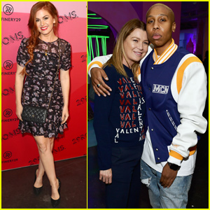 Isla Fisher Joins Ellen Pompeo & Lena Waithe at Refinery29's 29Rooms!