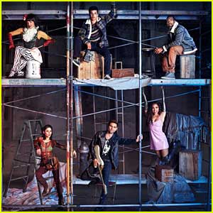 'Rent: Live' Debuts Cast Pics of Vanessa Hudgens, Mario, Tinashe & More!