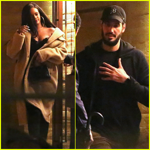 Rihanna & Boyfriend Hassan Jameel Go on a Late Night Dinner Date in Malibu