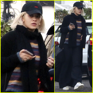 Rita Ora Runs Errands in London After Stepping Out with Andrew Garfield
