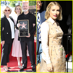 Ryan Murphy Gets Support from His Shows' Stars at Hollywood Walk of Fame Ceremony!