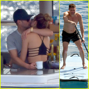 Ryan Seacrest & Girlfriend Shayna Taylor Pack on the PDA During Christmas Vacation!