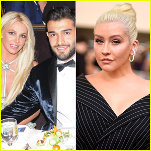 Britney Spears' Boyfriend Seems to Throw Shade at Christina Aguilera