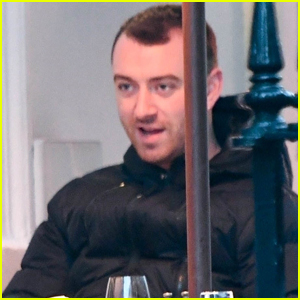 Sam Smith Grabs Dinner with a Friend in London
