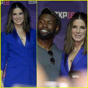 Sandra Bullock & Trevante Rhodes Bring 'Bird Box' to Comic-Con in Sao Paulo!