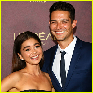 Sarah Hyland Posts Skinny-Dipping Photo & Wells Adams Shares a Fun Comment!