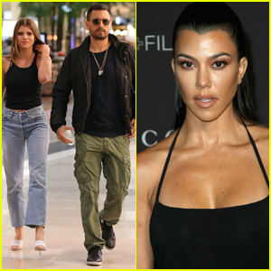 Scott Disick Posts Photo on Vacation With Ex Kourtney Kardashian & Girlfriend Sofia Richie!