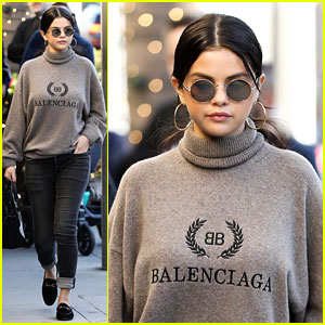 Selena Gomez Is a Balenciaga Beauty