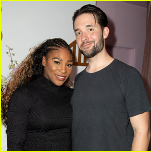 Serena Williams' Husband & Celeb Friends Support Her at Pop-Up Event!