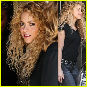 Shakira Is All Smiles While Stepping Out in Barcelona!