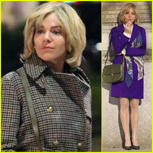 Sienna Miller Gets Into Character as Roger Ailes' Wife Beth on Set of 'The Loudest Voice in the Room'