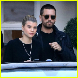 Scott Disick & Sofia Richie Head to a Tattoo Removal Appointment Together!