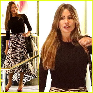 Sofia Vergara Throws Son Manolo's Dog a Birthday Party!