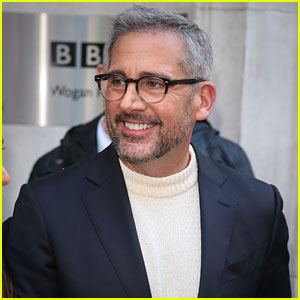 Steve Carell Promotes 'Welcome to Marween' at BBC Radio 2
