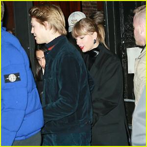 Taylor Swift & Boyfriend Joe Alwyn Head to Dinner Ahead of New Year's Eve!