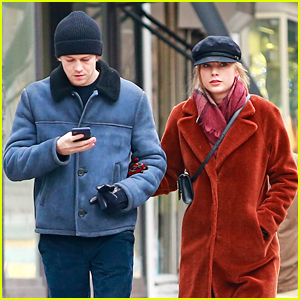 Taylor Swift & Joe Alwyn Hold Hands in Rare Photos!