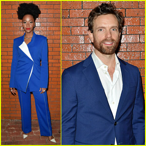 Teyonah Parris Celebrates Opening of Off-Broadway's 'Slave Play'