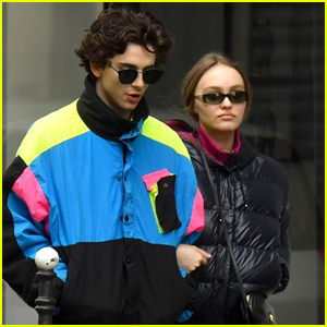Timothee Chalamet & Lily-Rose Depp Stroll Arm in Arm in Paris!