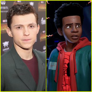 Tom Holland Reacts to 'Spider-Man: Into the Spider-Verse
