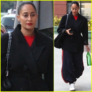 Tracee Ellis Ross Heads to Dentist Appointment in Beverly Hills