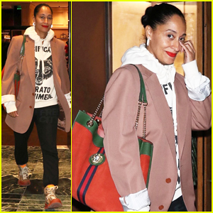 Tracee Ellis Ross Serenades Her New Gucci Bag in Hilarious Video - Watch Here!