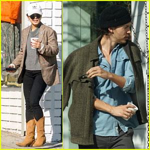 Vanessa Hudgens & Boyfriend Austin Butler Go Window Shopping After Breakfast