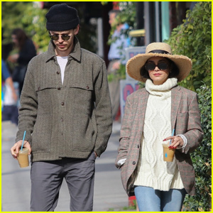 Vanessa Hudgens & Austin Butler Grab Holiday Lunch With a Friend!